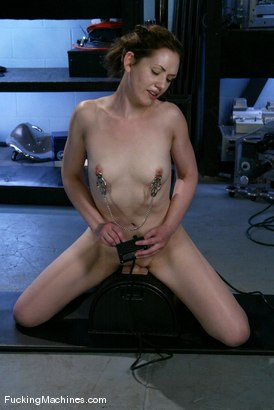 Photo number 10 from AMATEUR GIRL FRIDAYS <br> Sarah Shevon shot for Fucking Machines on Kink.com. Featuring Sarah Shevon in hardcore BDSM & Fetish porn.
