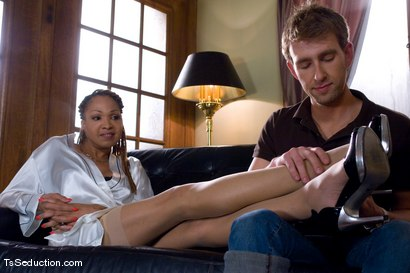 Photo number 1 from Welcome Vanilla and her 10 inch cock shot for TS Seduction on Kink.com. Featuring Vanilla and Dean Strong in hardcore BDSM & Fetish porn.