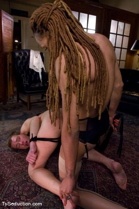 Photo number 10 from Welcome Vanilla and her 10 inch cock shot for TS Seduction on Kink.com. Featuring Vanilla and Dean Strong in hardcore BDSM & Fetish porn.