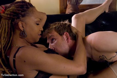 Photo number 4 from Welcome Vanilla and her 10 inch cock shot for TS Seduction on Kink.com. Featuring Vanilla and Dean Strong in hardcore BDSM & Fetish porn.
