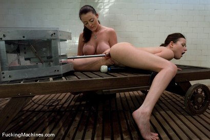 Photo number 11 from Sindee Jennings and Sophie Dee - Squirting and squirting shot for Fucking Machines on Kink.com. Featuring Sindee Jennings and Sophie Dee in hardcore BDSM & Fetish porn.