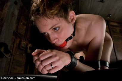 Photo number 11 from Kristine shot for Sex And Submission on Kink.com. Featuring Steve Holmes and Kristine in hardcore BDSM & Fetish porn.