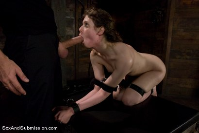 Photo number 9 from Kristine shot for Sex And Submission on Kink.com. Featuring Steve Holmes and Kristine in hardcore BDSM & Fetish porn.
