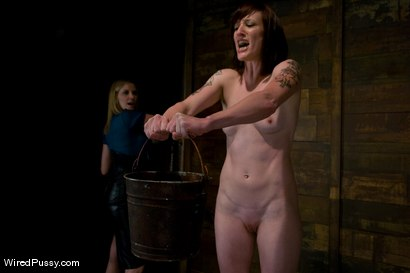 Photo number 2 from Nina Returns shot for Wired Pussy on Kink.com. Featuring Maitresse Madeline Marlowe  and Nina in hardcore BDSM & Fetish porn.