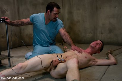 Photo number 5 from The Sex Addict shot for Bound Gods on Kink.com. Featuring CJ and Dak Ramsey in hardcore BDSM & Fetish porn.