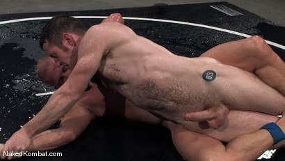 Photo number 11 from Dean Tucker vs Luke Riley<br />The Water Match shot for Naked Kombat on Kink.com. Featuring Luke Riley and Dean Tucker in hardcore BDSM & Fetish porn.
