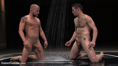 Photo number 1 from Dean Tucker vs Luke Riley<br />The Water Match shot for Naked Kombat on Kink.com. Featuring Luke Riley and Dean Tucker in hardcore BDSM & Fetish porn.