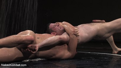 Photo number 7 from Dean Tucker vs Luke Riley<br />The Water Match shot for Naked Kombat on Kink.com. Featuring Luke Riley and Dean Tucker in hardcore BDSM & Fetish porn.