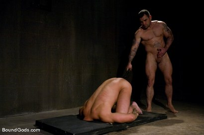 Photo number 12 from The Night Cop shot for Bound Gods on Kink.com. Featuring Brock Armstrong and Dak Ramsey in hardcore BDSM & Fetish porn.