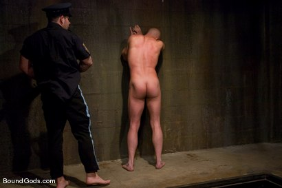 Photo number 1 from The Night Cop shot for Bound Gods on Kink.com. Featuring Brock Armstrong and Dak Ramsey in hardcore BDSM & Fetish porn.