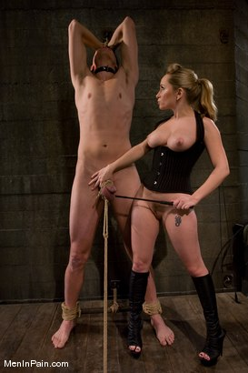 Photo number 2 from Bark, Bitch shot for Men In Pain on Kink.com. Featuring Aiden Starr and Derrick P. in hardcore BDSM & Fetish porn.
