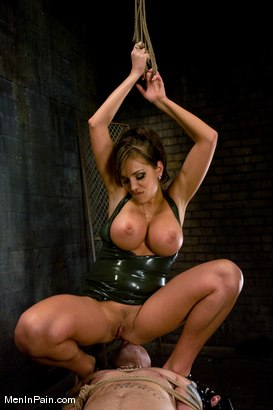 Photo number 5 from Latex Accent shot for Men In Pain on Kink.com. Featuring Nika Noire and Rico in hardcore BDSM & Fetish porn.