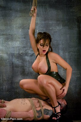 Photo number 7 from Latex Accent shot for Men In Pain on Kink.com. Featuring Nika Noire and Rico in hardcore BDSM & Fetish porn.