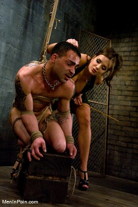 Photo number 4 from Latex Accent shot for Men In Pain on Kink.com. Featuring Nika Noire and Rico in hardcore BDSM & Fetish porn.