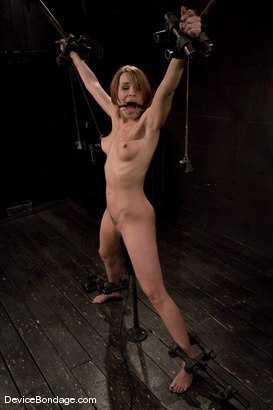 Photo number 9 from Dana DeArmond<br>Spread, stuffed, and vibrated.<br>Stretched out on toes and made to cum! shot for Device Bondage on Kink.com. Featuring Dana DeArmond in hardcore BDSM & Fetish porn.