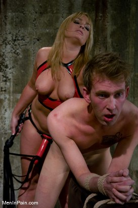 Photo number 3 from Ass Worship shot for Men In Pain on Kink.com. Featuring Flower Tucci and Dean Strong in hardcore BDSM & Fetish porn.