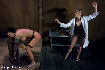 Photo number 5 from Mason Moore: Extreme Rehab shot for Whipped Ass on Kink.com. Featuring Mason Moore and Maitresse Madeline Marlowe in hardcore BDSM & Fetish porn.
