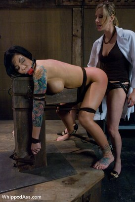 Photo number 6 from Mason Moore: Extreme Rehab shot for Whipped Ass on Kink.com. Featuring Mason Moore and Maitresse Madeline Marlowe in hardcore BDSM & Fetish porn.