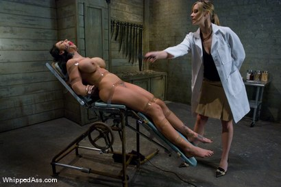Photo number 3 from Mason Moore: Extreme Rehab shot for Whipped Ass on Kink.com. Featuring Mason Moore and Maitresse Madeline Marlowe in hardcore BDSM & Fetish porn.