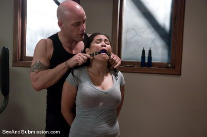 Photo number 3 from The Fitness Instructor shot for Sex And Submission on Kink.com. Featuring Jessica Bangkok and Derrick Pierce in hardcore BDSM & Fetish porn.