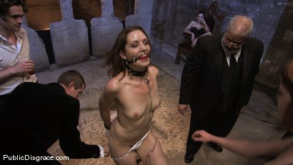 Photo number 1 from Brand new girl gets her porn intitation on Public Disgrace!!! shot for Public Disgrace on Kink.com. Featuring Sarah Shevon and Mickey Mod in hardcore BDSM & Fetish porn.