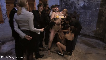 Photo number 3 from Brand new girl gets her porn intitation on Public Disgrace!!! shot for Public Disgrace on Kink.com. Featuring Sarah Shevon and Mickey Mod in hardcore BDSM & Fetish porn.