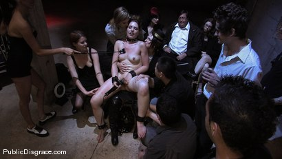 Photo number 6 from Brand new girl gets her porn intitation on Public Disgrace!!! shot for Public Disgrace on Kink.com. Featuring Sarah Shevon and Mickey Mod in hardcore BDSM & Fetish porn.