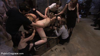Photo number 11 from Brand new girl gets her porn intitation on Public Disgrace!!! shot for Public Disgrace on Kink.com. Featuring Sarah Shevon and Mickey Mod in hardcore BDSM & Fetish porn.