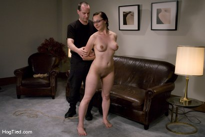 Photo number 3 from Casting Couch 9: Maggie Mayhem, Sweet & Innocent my Ass! shot for Hogtied on Kink.com. Featuring Maggie Mayhem in hardcore BDSM & Fetish porn.