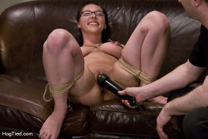 Photo number 8 from Casting Couch 9: Maggie Mayhem, Sweet & Innocent my Ass! shot for Hogtied on Kink.com. Featuring Maggie Mayhem in hardcore BDSM & Fetish porn.