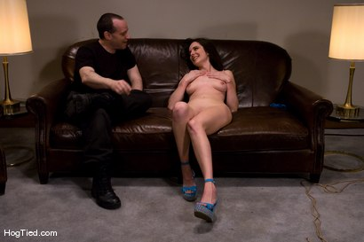 Photo number 14 from Casting Couch 8: Winter Sky, A Rope Slut is Born! shot for Hogtied on Kink.com. Featuring Winter Sky in hardcore BDSM & Fetish porn.