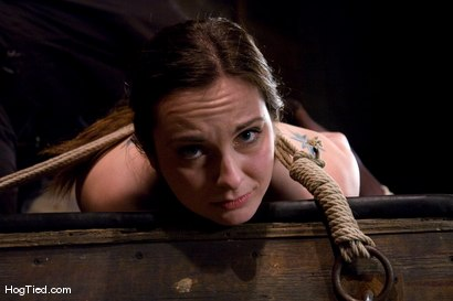 Photo number 5 from Winter Sky:  Fresh from the Casting Couch to Intense Orgasms! shot for Hogtied on Kink.com. Featuring Winter Sky in hardcore BDSM & Fetish porn.