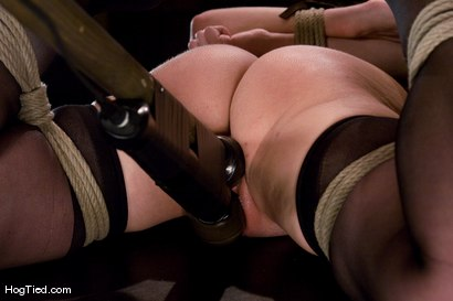 Photo number 6 from Winter Sky:  Fresh from the Casting Couch to Intense Orgasms! shot for Hogtied on Kink.com. Featuring Winter Sky in hardcore BDSM & Fetish porn.