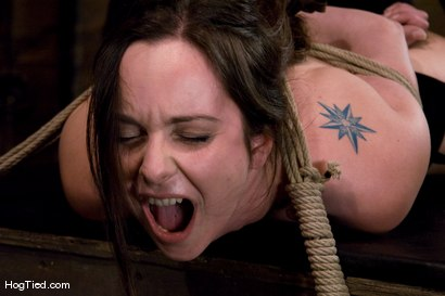 Photo number 8 from Winter Sky:  Fresh from the Casting Couch to Intense Orgasms! shot for Hogtied on Kink.com. Featuring Winter Sky in hardcore BDSM & Fetish porn.