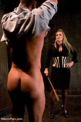 Photo number 1 from Pathetic Little Prick shot for Men In Pain on Kink.com. Featuring Harmony and Rusty Stevens in hardcore BDSM & Fetish porn.