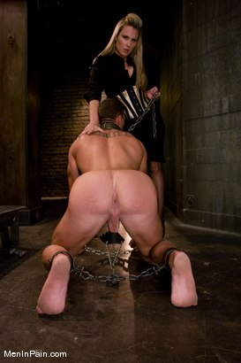Photo number 9 from Pathetic Little Prick shot for Men In Pain on Kink.com. Featuring Harmony and Rusty Stevens in hardcore BDSM & Fetish porn.