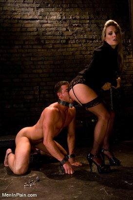 Photo number 6 from Pathetic Little Prick shot for Men In Pain on Kink.com. Featuring Harmony and Rusty Stevens in hardcore BDSM & Fetish porn.