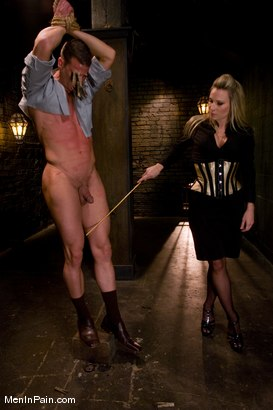 Photo number 2 from Pathetic Little Prick shot for Men In Pain on Kink.com. Featuring Harmony and Rusty Stevens in hardcore BDSM & Fetish porn.