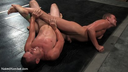 Photo number 7 from Dustin Michaels vs Ty Tucker shot for Naked Kombat on Kink.com. Featuring Dustin Michaels and Ty Tucker in hardcore BDSM & Fetish porn.