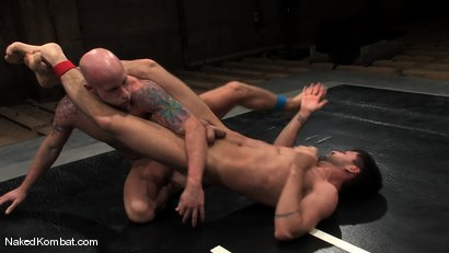 Photo number 6 from Drake Jaden vs Dominic Pacifico shot for Naked Kombat on Kink.com. Featuring Drake Jaden and Dominic Pacifico in hardcore BDSM & Fetish porn.