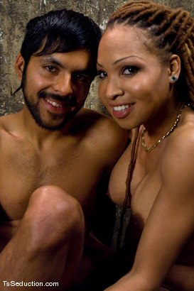 Photo number 15 from Cheating on a 9 inch cock <br> Vanilla and Pancho shot for TS Seduction on Kink.com. Featuring Vanilla and Pancho Santos in hardcore BDSM & Fetish porn.