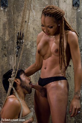 Photo number 8 from Cheating on a 9 inch cock <br> Vanilla and Pancho shot for TS Seduction on Kink.com. Featuring Vanilla and Pancho Santos in hardcore BDSM & Fetish porn.