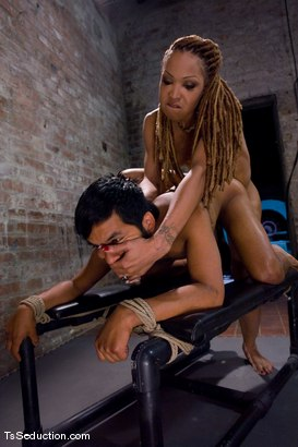Photo number 13 from Cheating on a 9 inch cock <br> Vanilla and Pancho shot for TS Seduction on Kink.com. Featuring Vanilla and Pancho Santos in hardcore BDSM & Fetish porn.