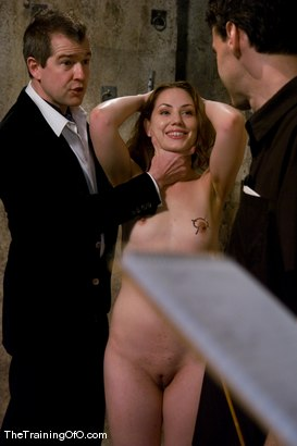 Photo number 9 from Slave Hunting<br />Candidate #37 shot for The Training Of O on Kink.com. Featuring Sarah Shevon and Maestro in hardcore BDSM & Fetish porn.