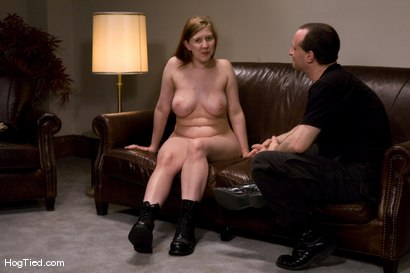Photo number 15 from Casting Couch 12: Nerine is the Real Deal bondage slut shot for Hogtied on Kink.com. Featuring Nerine Mechanique in hardcore BDSM & Fetish porn.