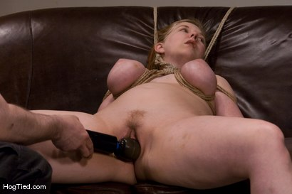 Photo number 8 from Casting Couch 12: Nerine is the Real Deal bondage slut shot for Hogtied on Kink.com. Featuring Nerine Mechanique in hardcore BDSM & Fetish porn.