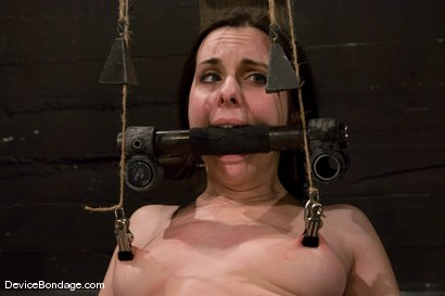 Photo number 8 from Winter Sky<br>Scared local girl over cums<br>her fear and suffers beautifully for her pleasure. shot for Device Bondage on Kink.com. Featuring Winter Sky in hardcore BDSM & Fetish porn.