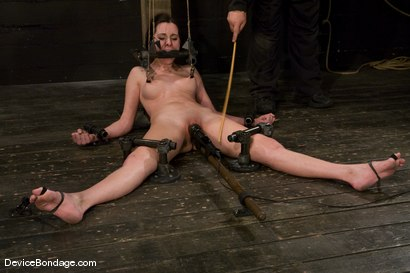 Photo number 10 from Winter Sky<br>Scared local girl over cums<br>her fear and suffers beautifully for her pleasure. shot for Device Bondage on Kink.com. Featuring Winter Sky in hardcore BDSM & Fetish porn.