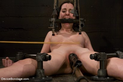 Photo number 11 from Winter Sky<br>Scared local girl over cums<br>her fear and suffers beautifully for her pleasure. shot for Device Bondage on Kink.com. Featuring Winter Sky in hardcore BDSM & Fetish porn.