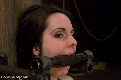 Photo number 4 from Winter Sky<br>Scared local girl over cums<br>her fear and suffers beautifully for her pleasure. shot for Device Bondage on Kink.com. Featuring Winter Sky in hardcore BDSM & Fetish porn.